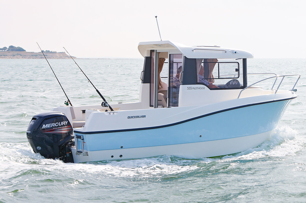 Quicksilver 555 Pilothouse